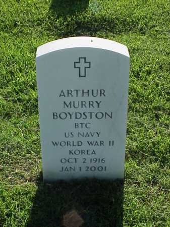 BOYDSTON (VETERAN 2 WARS), ARTHUR MURRY - Pulaski County, Arkansas | ARTHUR MURRY BOYDSTON (VETERAN 2 WARS) - Arkansas Gravestone Photos
