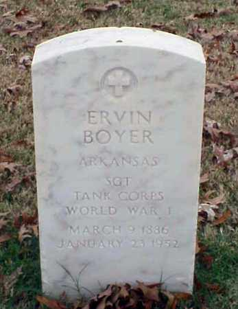 BOYER (VETERAN WWI), ERVIN - Pulaski County, Arkansas | ERVIN BOYER (VETERAN WWI) - Arkansas Gravestone Photos