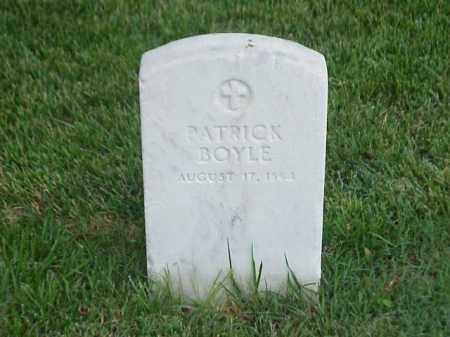 BOYLE (VETERAN UNION), PATRICK - Pulaski County, Arkansas | PATRICK BOYLE (VETERAN UNION) - Arkansas Gravestone Photos