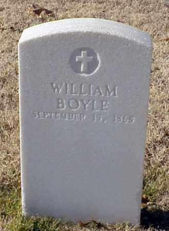 BOYLE (VETERAN UNION), WILLIAM - Pulaski County, Arkansas | WILLIAM BOYLE (VETERAN UNION) - Arkansas Gravestone Photos