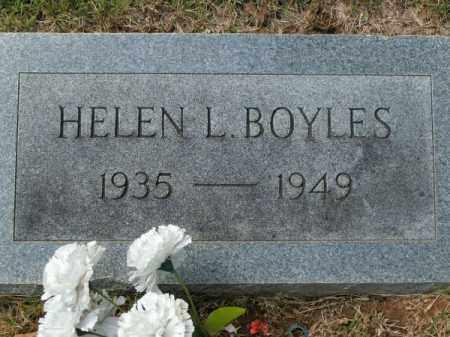 BOYLES, HELEN L - Pulaski County, Arkansas | HELEN L BOYLES - Arkansas Gravestone Photos