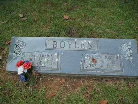 BOYLES, IDA - Pulaski County, Arkansas | IDA BOYLES - Arkansas Gravestone Photos