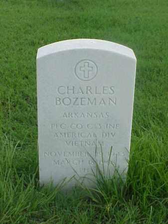 BOZEMAN (VETERAN VIET), CHARLES - Pulaski County, Arkansas | CHARLES BOZEMAN (VETERAN VIET) - Arkansas Gravestone Photos