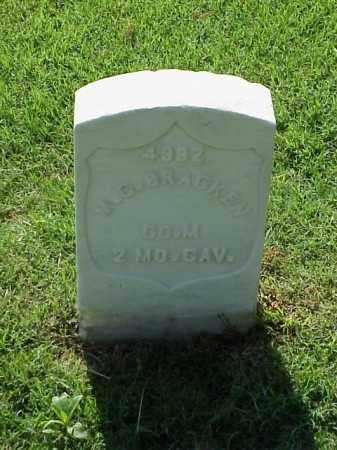 BRACKEN (VETERAN UNION), M G - Pulaski County, Arkansas | M G BRACKEN (VETERAN UNION) - Arkansas Gravestone Photos
