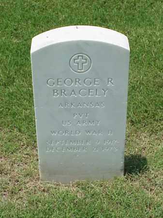 BRACLEY (VETERAN WWII), GEORGE R - Pulaski County, Arkansas | GEORGE R BRACLEY (VETERAN WWII) - Arkansas Gravestone Photos