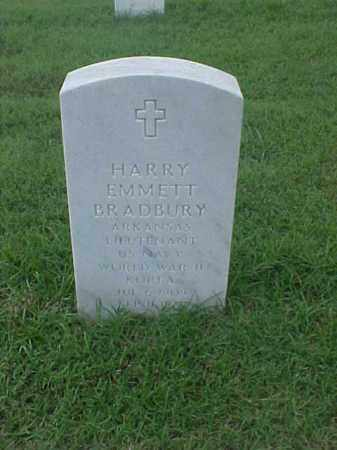 BRADBURY (VETERAN 2 WARS), HARRY EMMETT - Pulaski County, Arkansas | HARRY EMMETT BRADBURY (VETERAN 2 WARS) - Arkansas Gravestone Photos
