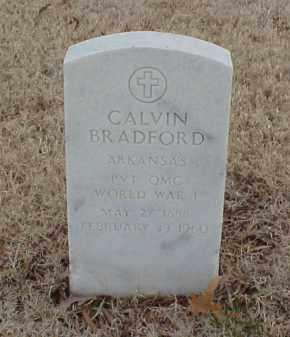 BRADFORD  (VETERAN WWI), CALVIN - Pulaski County, Arkansas | CALVIN BRADFORD  (VETERAN WWI) - Arkansas Gravestone Photos