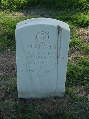 BRADFORD, MARSHA - Pulaski County, Arkansas | MARSHA BRADFORD - Arkansas Gravestone Photos
