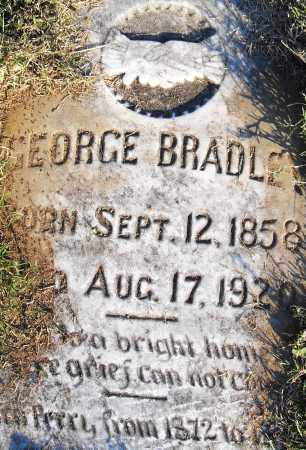 BRADLEY, GEORGE - Pulaski County, Arkansas | GEORGE BRADLEY - Arkansas Gravestone Photos