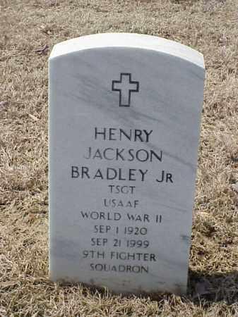 BRADLEY, JR  (VETERAN WWII), HENRY JACKSON - Pulaski County, Arkansas | HENRY JACKSON BRADLEY, JR  (VETERAN WWII) - Arkansas Gravestone Photos