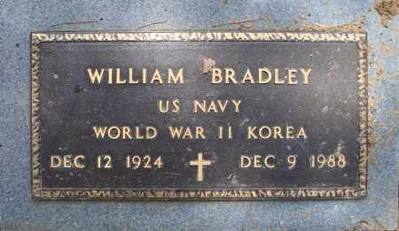 BRADLEY (VETERAN 2 WARS), WILLIAM - Pulaski County, Arkansas | WILLIAM BRADLEY (VETERAN 2 WARS) - Arkansas Gravestone Photos