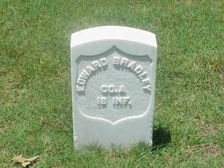 BRADLEY (VETERAN UNION), EDWARD - Pulaski County, Arkansas | EDWARD BRADLEY (VETERAN UNION) - Arkansas Gravestone Photos