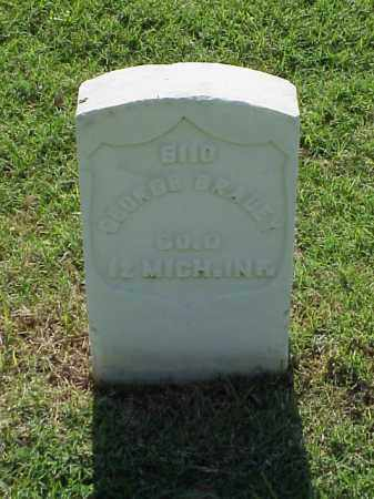 BRADEY (VETERAN UNION), GEORGE - Pulaski County, Arkansas | GEORGE BRADEY (VETERAN UNION) - Arkansas Gravestone Photos