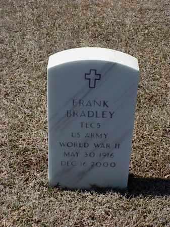 BRADLEY (VETERAN WWII), FRANK - Pulaski County, Arkansas | FRANK BRADLEY (VETERAN WWII) - Arkansas Gravestone Photos