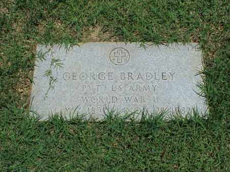 BRADLEY (VETERAN WWII), GEORGE - Pulaski County, Arkansas | GEORGE BRADLEY (VETERAN WWII) - Arkansas Gravestone Photos