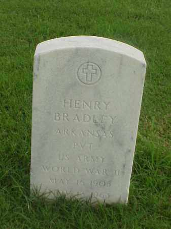 BRADLEY (VETERAN WWII), HENRY - Pulaski County, Arkansas | HENRY BRADLEY (VETERAN WWII) - Arkansas Gravestone Photos