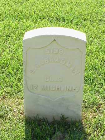 BRADMAN (VETERAN UNION), L W - Pulaski County, Arkansas | L W BRADMAN (VETERAN UNION) - Arkansas Gravestone Photos