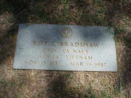 BRADSHAW (VETERAN 2 WARS), ROY C - Pulaski County, Arkansas | ROY C BRADSHAW (VETERAN 2 WARS) - Arkansas Gravestone Photos