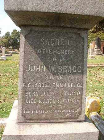 BRAGG, JOHN W - Pulaski County, Arkansas | JOHN W BRAGG - Arkansas Gravestone Photos