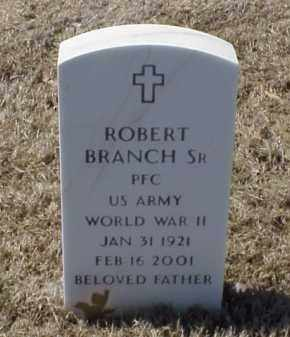 BRANCH, SR (VETERAN WWII), ROBERT - Pulaski County, Arkansas | ROBERT BRANCH, SR (VETERAN WWII) - Arkansas Gravestone Photos