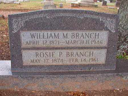 BRANCH, ROSIE P - Pulaski County, Arkansas | ROSIE P BRANCH - Arkansas Gravestone Photos