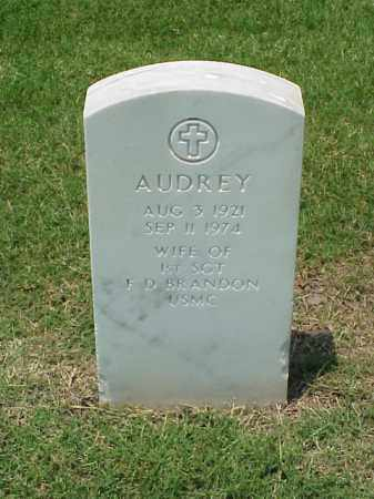 BRANDON, AUDREY - Pulaski County, Arkansas | AUDREY BRANDON - Arkansas Gravestone Photos