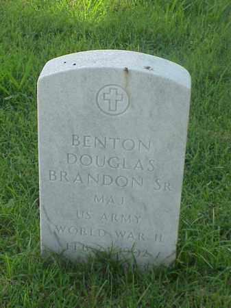BRANDON   (VETERAN WWII), BENTON DOUGLAS, SR - Pulaski County, Arkansas | BENTON DOUGLAS, SR BRANDON   (VETERAN WWII) - Arkansas Gravestone Photos