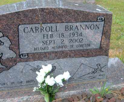 BRANNON, CARROLL - Pulaski County, Arkansas | CARROLL BRANNON - Arkansas Gravestone Photos