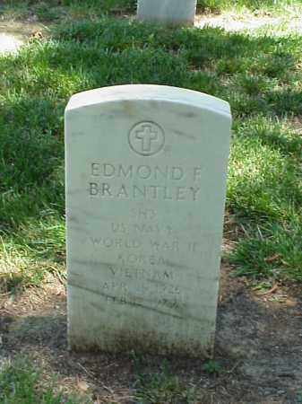 BRANTLEY (VETERAN 3 WARS), EDMOND F - Pulaski County, Arkansas | EDMOND F BRANTLEY (VETERAN 3 WARS) - Arkansas Gravestone Photos