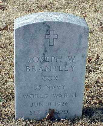 BRANTLEY (VETERAN WWII), JOSEPH W - Pulaski County, Arkansas | JOSEPH W BRANTLEY (VETERAN WWII) - Arkansas Gravestone Photos