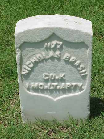 BRASH (VETERAN UNION), NICHOLAS - Pulaski County, Arkansas | NICHOLAS BRASH (VETERAN UNION) - Arkansas Gravestone Photos