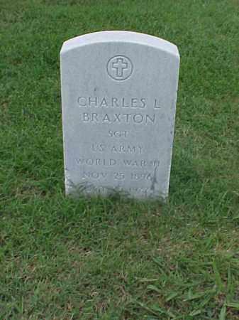 BRAXTON (VETERAN WWII), CHARLES L - Pulaski County, Arkansas | CHARLES L BRAXTON (VETERAN WWII) - Arkansas Gravestone Photos