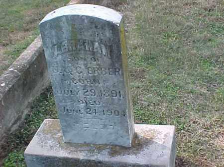 ERBER, ABRAHAM - Pulaski County, Arkansas | ABRAHAM ERBER - Arkansas Gravestone Photos