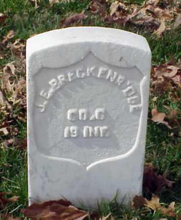 BRECKENRIDGE (VETERAN UNION), J E - Pulaski County, Arkansas | J E BRECKENRIDGE (VETERAN UNION) - Arkansas Gravestone Photos