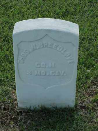 BREEDLOVE (VETERAN UNION), THOMAS W - Pulaski County, Arkansas | THOMAS W BREEDLOVE (VETERAN UNION) - Arkansas Gravestone Photos