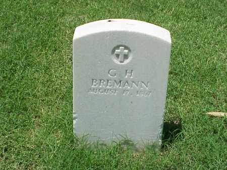 BREMANN (VETERAN UNION), G H - Pulaski County, Arkansas | G H BREMANN (VETERAN UNION) - Arkansas Gravestone Photos
