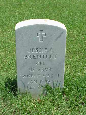 BRENTLEY (VETERAN WWII), JESSIE L - Pulaski County, Arkansas | JESSIE L BRENTLEY (VETERAN WWII) - Arkansas Gravestone Photos
