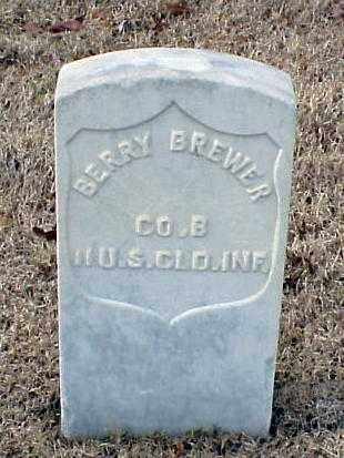 BREWER (VETERAN UNION), BERRY - Pulaski County, Arkansas | BERRY BREWER (VETERAN UNION) - Arkansas Gravestone Photos