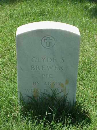 BREWER (VETERAN WWI), CLYDE S - Pulaski County, Arkansas | CLYDE S BREWER (VETERAN WWI) - Arkansas Gravestone Photos