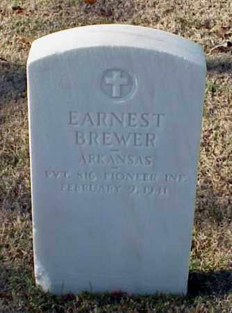 BREWER (VETERAN WWI), EARNEST - Pulaski County, Arkansas | EARNEST BREWER (VETERAN WWI) - Arkansas Gravestone Photos