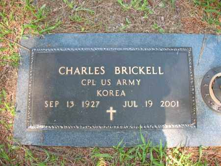 BRICKELL (VETERAN KOR), CHARLES - Pulaski County, Arkansas | CHARLES BRICKELL (VETERAN KOR) - Arkansas Gravestone Photos