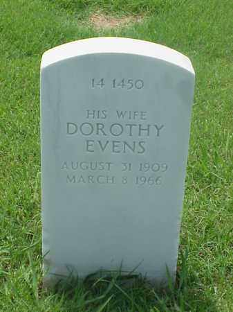 EVENS BRICKHOUSE, DOROTHY - Pulaski County, Arkansas | DOROTHY EVENS BRICKHOUSE - Arkansas Gravestone Photos
