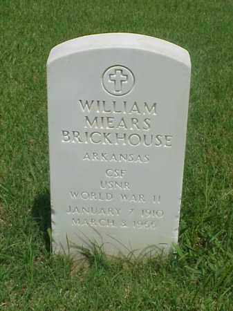 BRICKHOUSE (VETERAN WWII), WILLIAM MIEARS - Pulaski County, Arkansas | WILLIAM MIEARS BRICKHOUSE (VETERAN WWII) - Arkansas Gravestone Photos