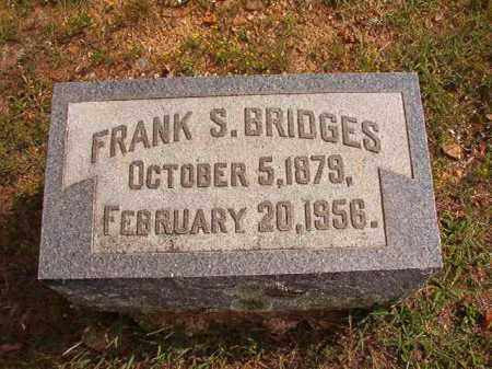 BRIDGES, FRANK S - Pulaski County, Arkansas | FRANK S BRIDGES - Arkansas Gravestone Photos