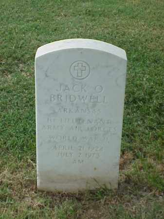 BRIDWELL (VETERAN WWII), JACK O - Pulaski County, Arkansas | JACK O BRIDWELL (VETERAN WWII) - Arkansas Gravestone Photos