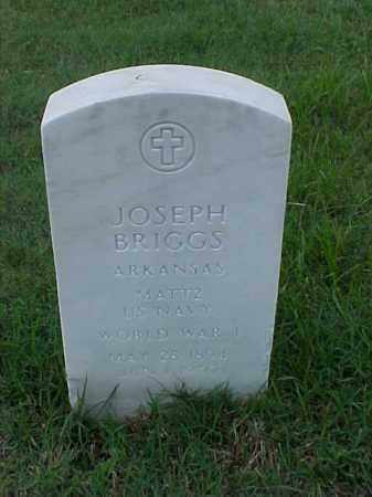 BRIGGS (VETERAN WWI), JOSEPH - Pulaski County, Arkansas | JOSEPH BRIGGS (VETERAN WWI) - Arkansas Gravestone Photos
