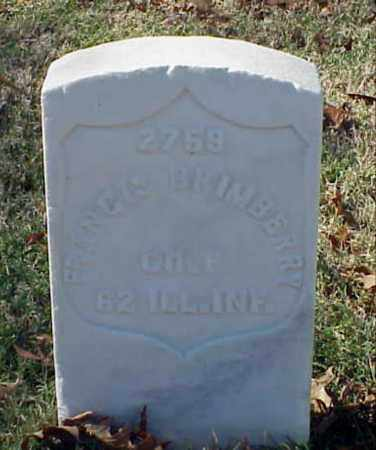 BRIMBERRY (VETERAN UNION), FRANCIS - Pulaski County, Arkansas | FRANCIS BRIMBERRY (VETERAN UNION) - Arkansas Gravestone Photos