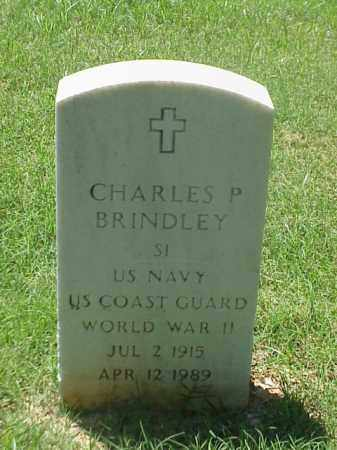 BRINDLEY (VETERAN WWII), CHARLES P - Pulaski County, Arkansas | CHARLES P BRINDLEY (VETERAN WWII) - Arkansas Gravestone Photos