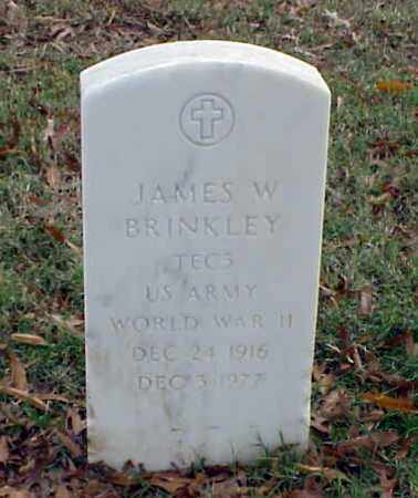 BRINKLEY (VETERAN WWII), JAMES W - Pulaski County, Arkansas | JAMES W BRINKLEY (VETERAN WWII) - Arkansas Gravestone Photos