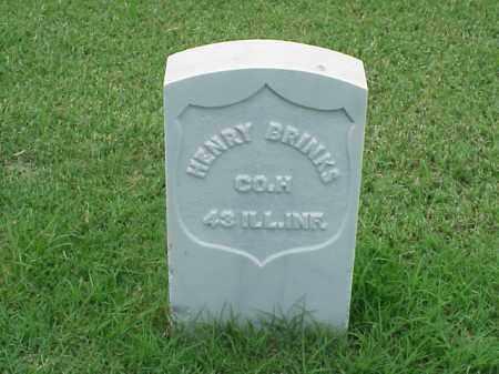 BRINKS (VETERAN UNION), HENRY - Pulaski County, Arkansas | HENRY BRINKS (VETERAN UNION) - Arkansas Gravestone Photos